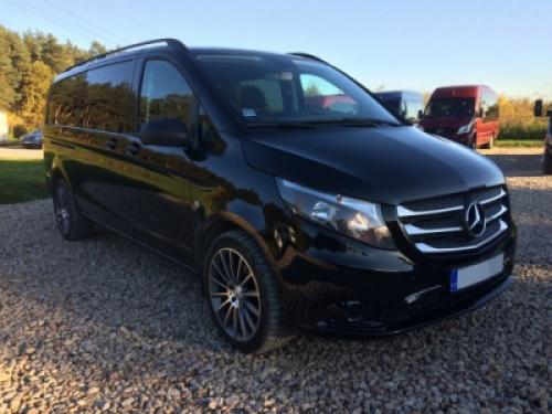 Mercedes Benz Vito Long 8+1 Black