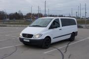 Mercedes Benz Vito Long 8+1 minibus rent in Riga