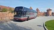 Neoplan 49+1 coach hire in Riga