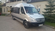 Mercedes Benz Sprinter 19+1 bus hire in Riga