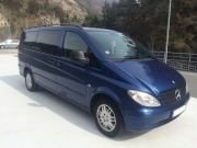 Mercedes Vito Long 7+1 minibus hire in Riga