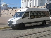 Mercedes Benz Sprinter 19+1 bus rent in Riga