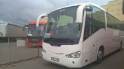 Scania coach hire in Riga