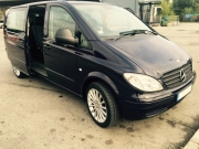 Mercedes Vito Long 8+1 minibus hire in Riga